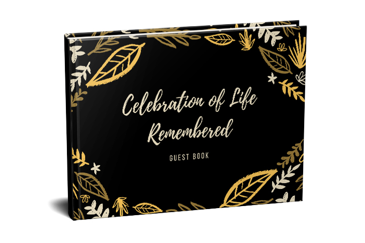Funeral Guest Book