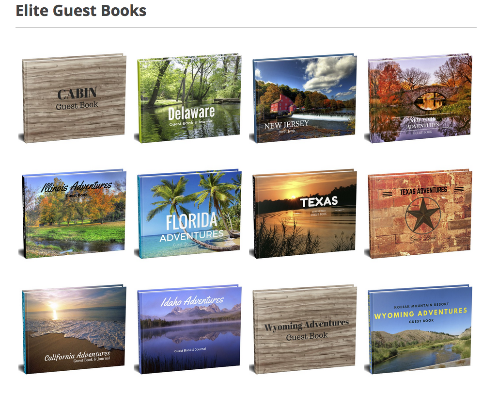 Vacation Guest Book