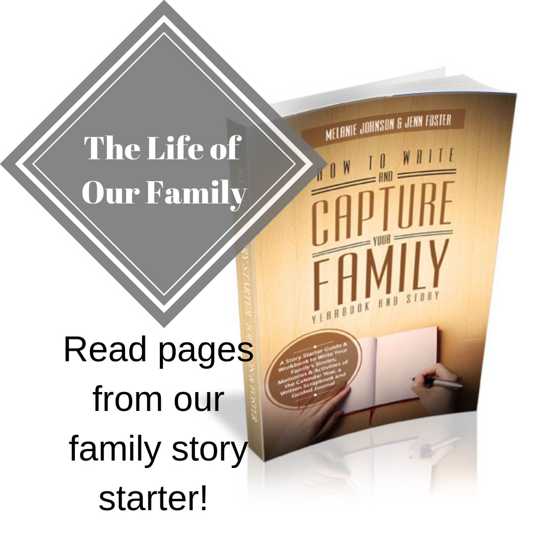 Read Pages from Our Family Yearbook Story Starter