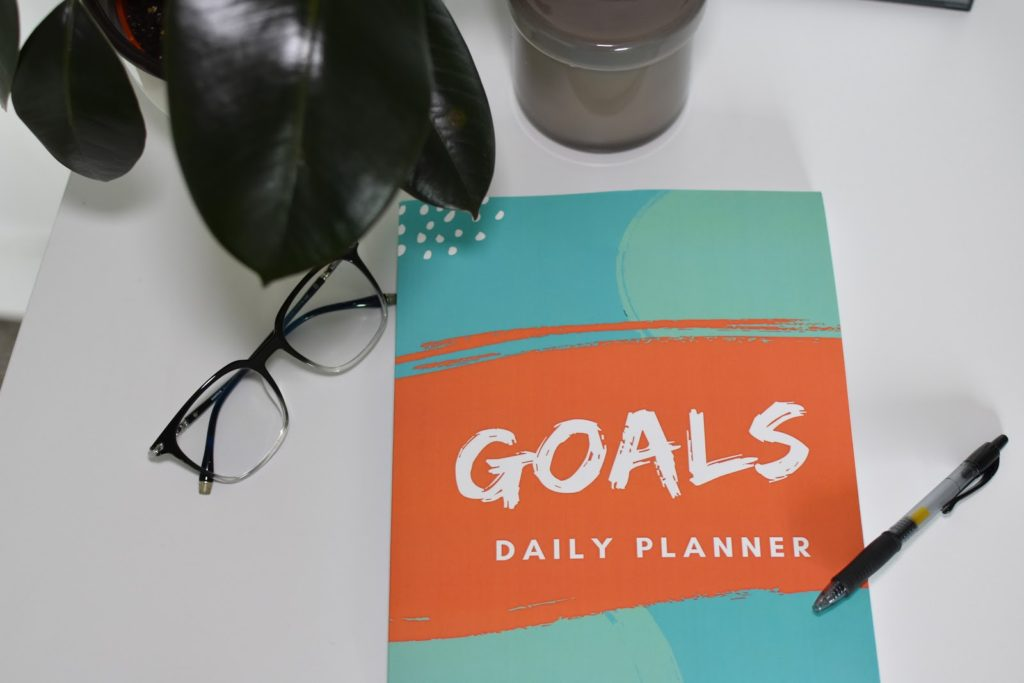 Today is the day! Goals Daily Planner Book Release!