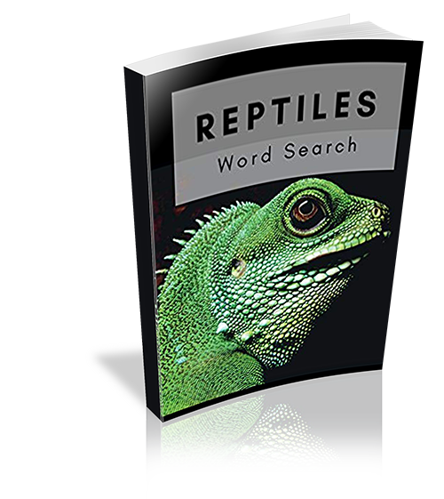 Reptiles Word Search: Activity Book
