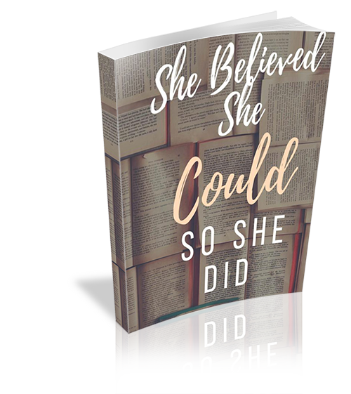 She Believed She Could, So She Did – Feminist Journal Prompts