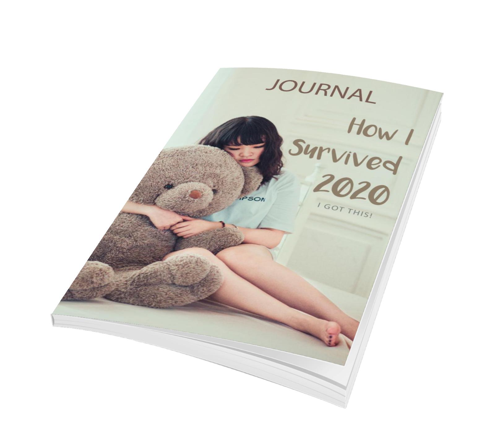 How I Survived 2020, I Got This: Lined Journal with prompts, 7×10 Diary to help you get through a pandemic