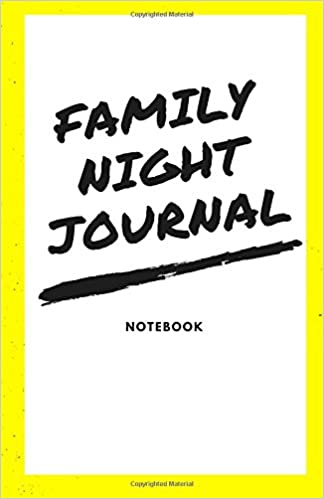 Family Night Journal: Blank Page Notebook or Sketchpad for Your Family, LDS, Mormon, Softcover