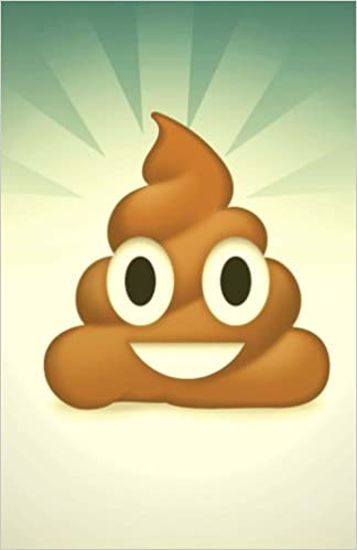 Emoji Journal: Poo Emoji, Lined Journal or Daily Diary, for Adults, Teens or Kids, Blank Lined Pages