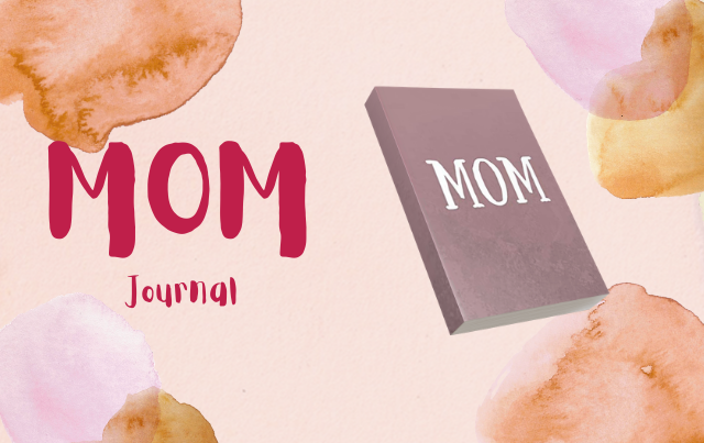 Mom Journal: Lined Notebook