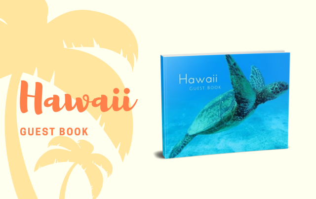 Hawaii Guest Book: Tropical Vacation Guest Book