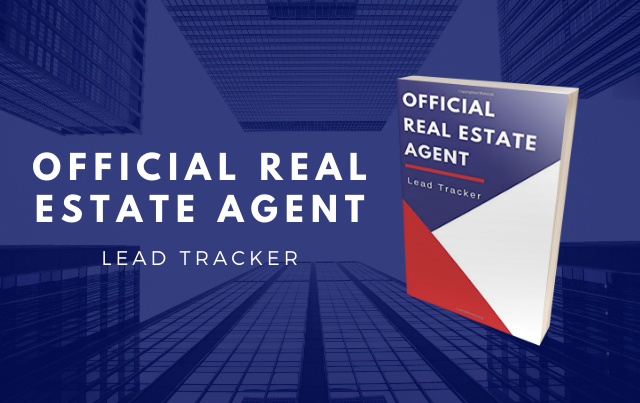 Official Real Estate Agent Lead Tracker Journal